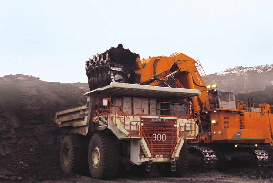Share your Coal strip mine hydraulic shovel for